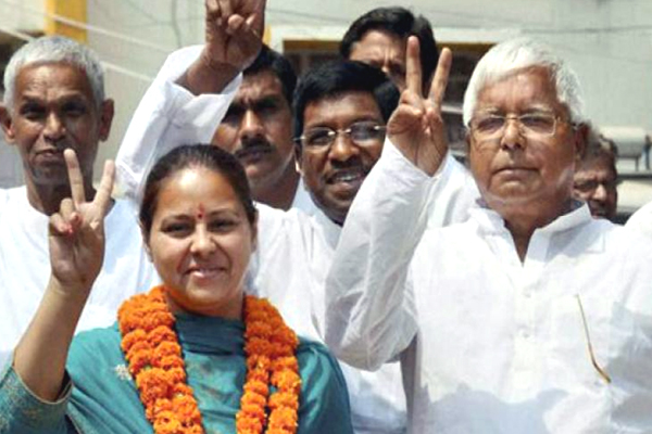 ED arrests CA of Lalu's daughter Misa