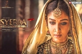 Syeraa Promotions: Nayanthara to Turn a Surprise