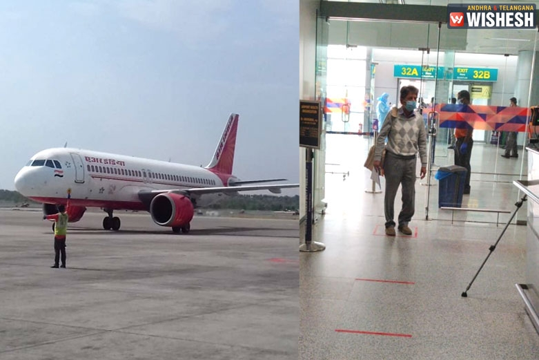 Air India flight with Indians from the United States reaches Hyderabad