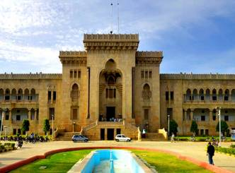 Osmania University students claims mandirs, mosques removed from campus