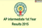 AP results, inter results, ap inter 1st year results today, Inter results