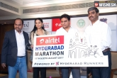 Telangana Government, August 20, seventh edition of airtel hyderabad marathon to be held on august 20, Airtel