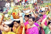 Bonalu festival, Hyderabad, bonalu festival brochure released in hyderabad, Bonalu