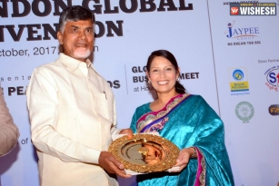 Chandrababu Receives Prestigious Golden Peacock Award