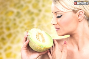 Get beautiful summer skin with cantaloupe
