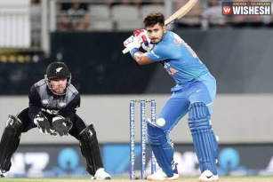 First T20: India Chase a Record Total Against New Zealand
