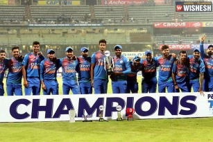 India Slams West Indies to Win the T20 Series
