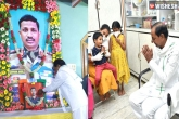 Telangana government, KCR meets Santosh babu family, kcr keeps his promise for colonel santosh babu s family, Keep
