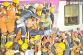 MMTS driver, MMTS driver, eight hours after the train clash mmts driver rescued, Mmts driver
