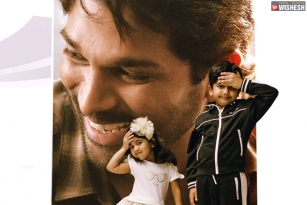 OMG Daddy Song Teaser Featuring Allu Arjun's Son And Daughter Released