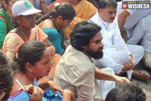 Pawan Kalyan Supports Amaravati Farmers: Stages Protests