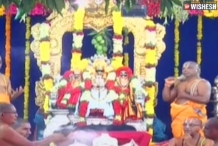 Sri Rama Navami Celebrated In A Grand Manner In Bhadrachalam, Vontimitta