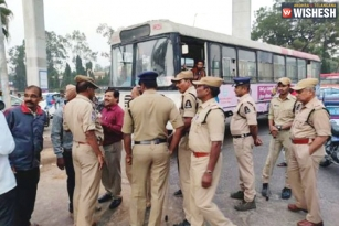 TSRTC Employees Arrested All Over Telangana