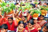 Telangana's Famous Festival, June 25, telangana s famous festival to start on june 25, Bonalu