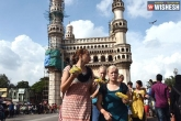 Telangana, Telangana Tourism latest, telangana witnesses 60 rise in foreign tourists, Tourism