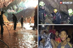 Eight Rescued Till Now As Divers Re-Enter Thai Cave