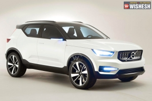 Volvo To Unveil XC40 Next Year In India