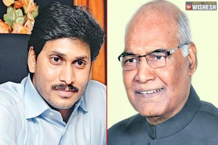 YS Jagan Writes Letter To Prez Kovind