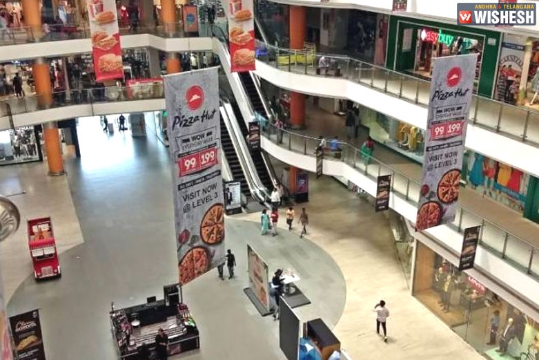 Malls Wear A Deserted Look In Hyderabad
