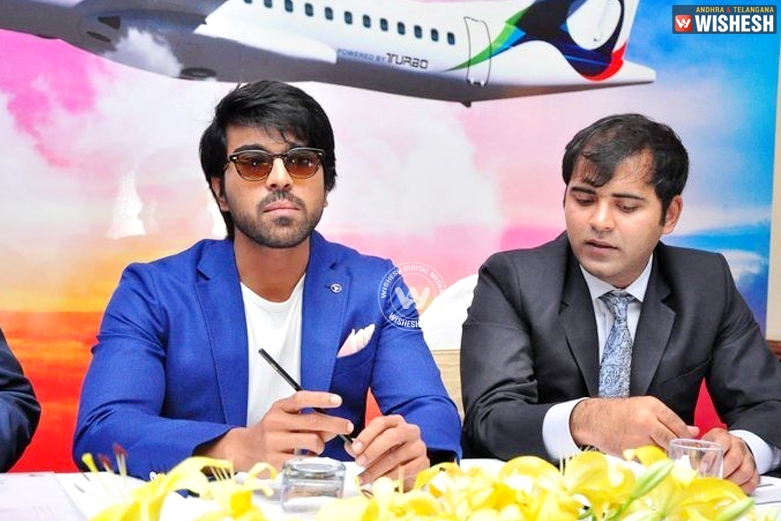 Ram Charan launches 'Trujet' this week